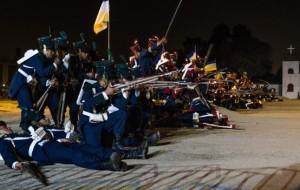 Batalla de Maipú alegoria 2015