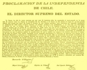 proclamación de la Indepemdencia