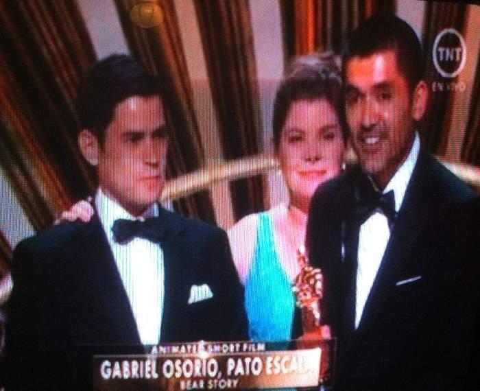Gabriel osorio  ganador Oscar
