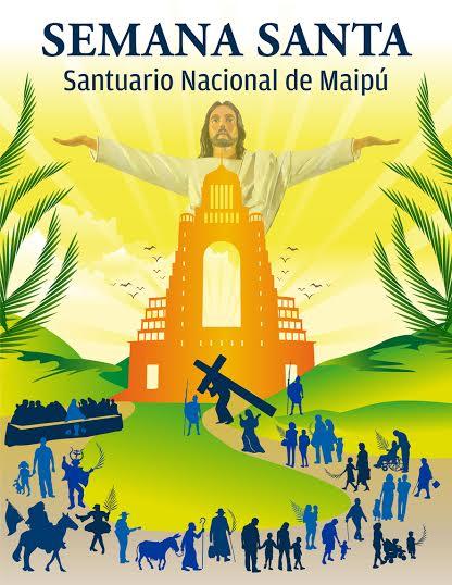 semana santa en santuario nacional de maipú