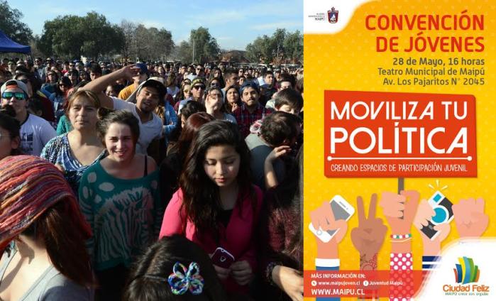convención de jovenes collage