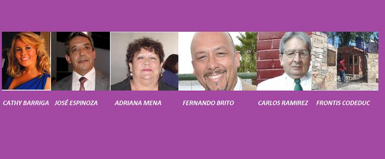 COLLAGE DOS BARRIGA MENA ESPINOZA BRITO RAMIREZ CODEDUC