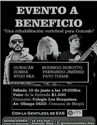 Banner Beneficio a Gonzalo Díaz