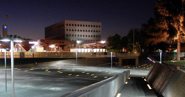 imagen nocturna de Maipú