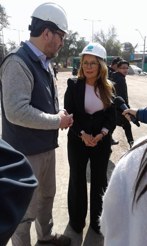 Alberto Pizarro y Cathy Barriga