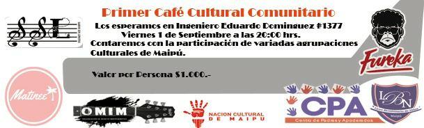 cafe comunitario en Liceo Bicientenario de Niñas