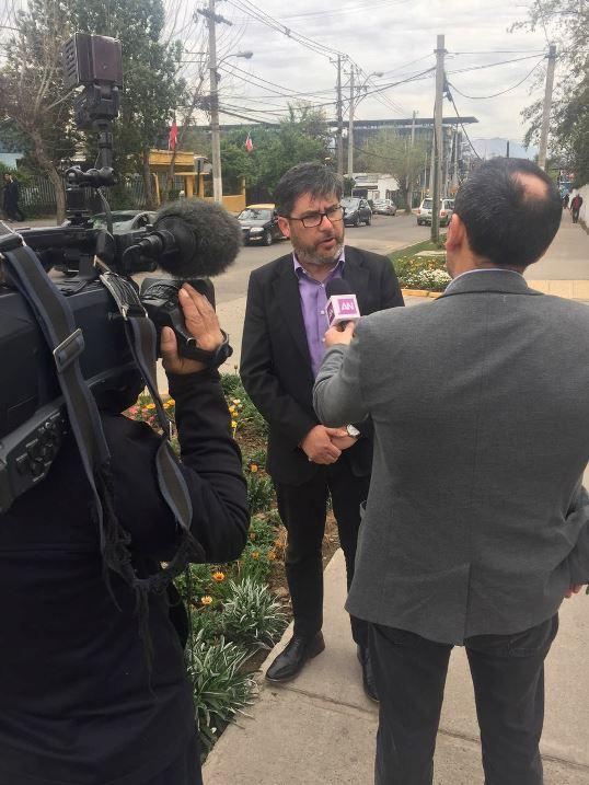 concejal Donoso en contra la delincuencia