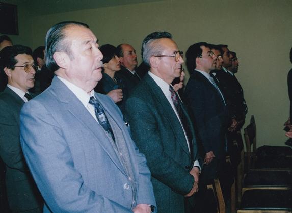 Mario Ortiz y Herman Silva. *